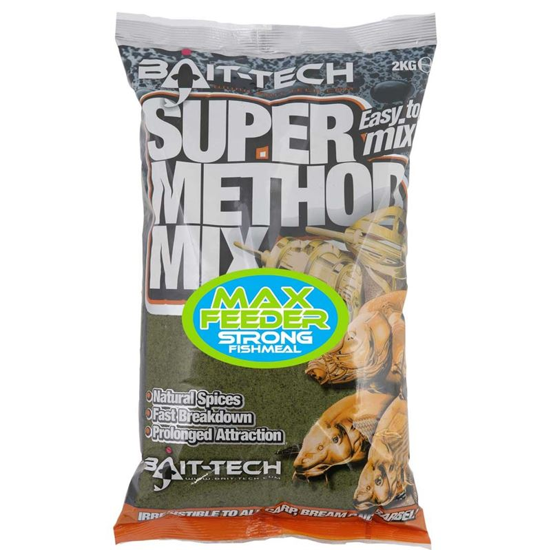 Bait-Tech Super Method Mix MAX FEEDER Groundbait 2kg