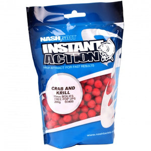Nash Instant Action Crab and Krill Boilies, Boilies, Nash, Bankside Tackle