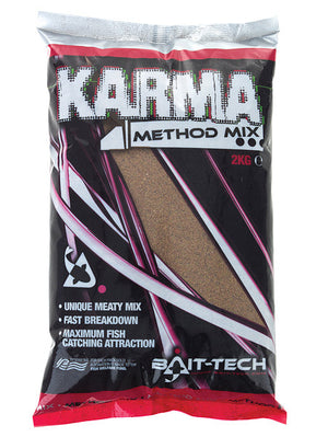 Bait Tech Karma Method Mix 2kg, Groundbaits, Bait-Tech, Bankside Tackle
