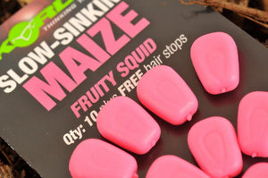 Korda Fake Food Slow Sinking Maize, Artificial Baits, Korda, Bankside Tackle