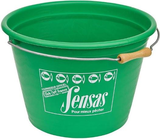 Sensas Groundbait Bucket 17 Litre