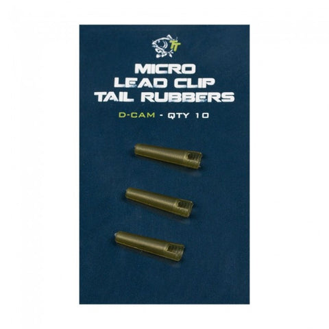 Nash Micro Lead Clip Tail Rubbers, Rig Bits, Nash, Bankside Tackle