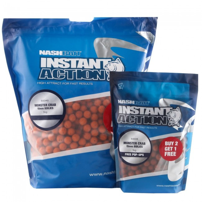 Nash Instant Action Monster Crab Boilies