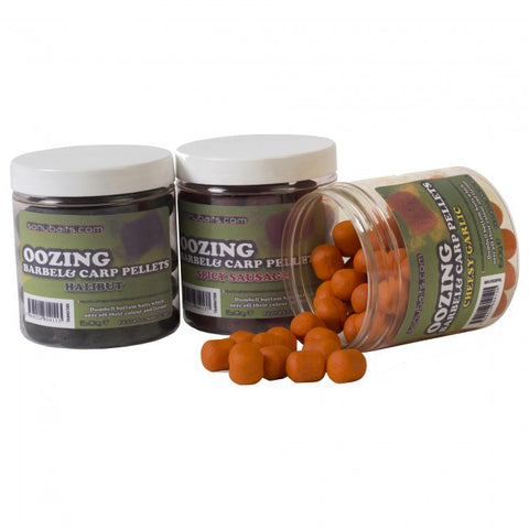 Sonubaits Oozing Barbel & Carp Pellets, Hookbaits, Sonu Baits, Bankside Tackle