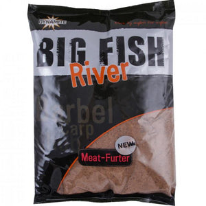Dynamite Baits Big Fish River Meat Furter Groundbait