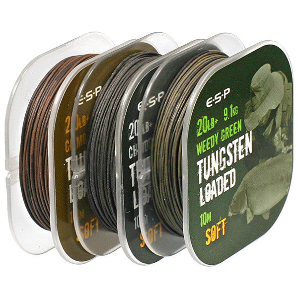 ESP Tungsten Loaded Coated Braid, Hooklinks, ESP, Bankside Tackle
