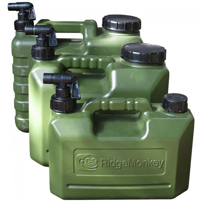 Ridgemonkey Heavy Duty Water Containers, Stoves & Cooking, Ridgemonkey, Bankside Tackle