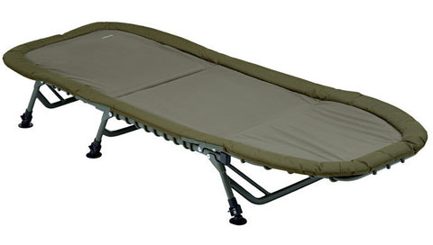Trakker RLX Flat 6 Superlight Bed, Bedchairs, Trakker, Bankside Tackle