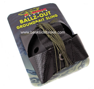 Atomic Balls Out Groundbait Sling, Catapults, Atomic Tackle, Bankside Tackle