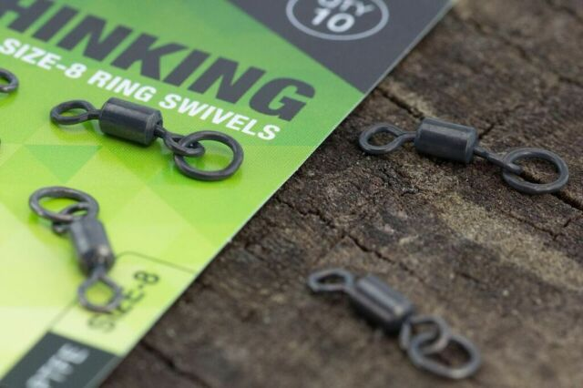 Thinking Anglers PTFE Size 8 Ring Swivels