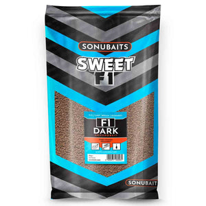 Sonubaits F1 Dark Groundbait 2kg Bag