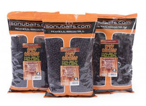 Sonubaits Spicy Sausage Halibut Pellets, Pellets, Sonu Baits, Bankside Tackle