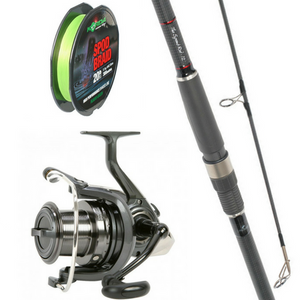 Free Spirit 12ft Spomb Rod Combo with Daiwa Spod Reel plus Korda Braid, Rod & Reel Combos, Free Spirit, Bankside Tackle