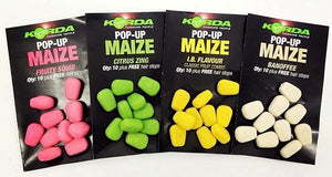 Korda Fake Food Pop-Up Maize, Artificial Baits, Korda, Bankside Tackle