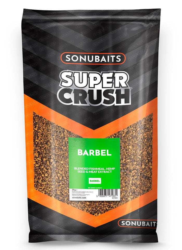 Sonubaits SuperCrush Barbel Groundbait
