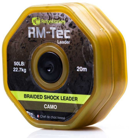 Ridgemonkey RM-Tec Braided Shock Leader