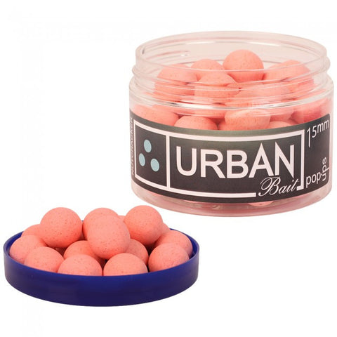 Urban Baits Nutcracker Washed Out Pink Pop Ups 15mm, Hookbaits, Urban Bait, Bankside Tackle