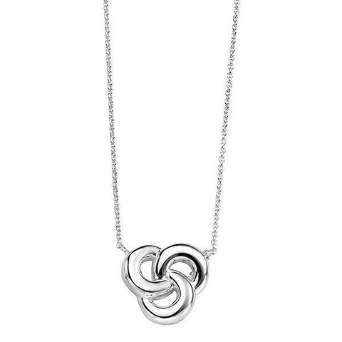 Celtic Knot Silver Necklace-VAVOO