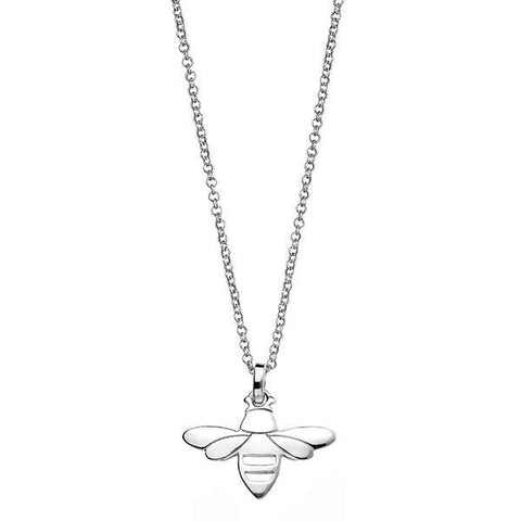 Bee Silver Necklace-VAVOO