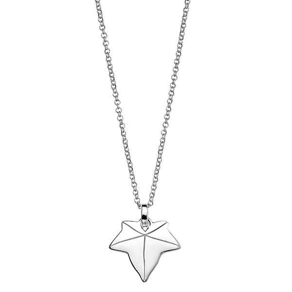 Ivy Silver Necklace-VAVOO