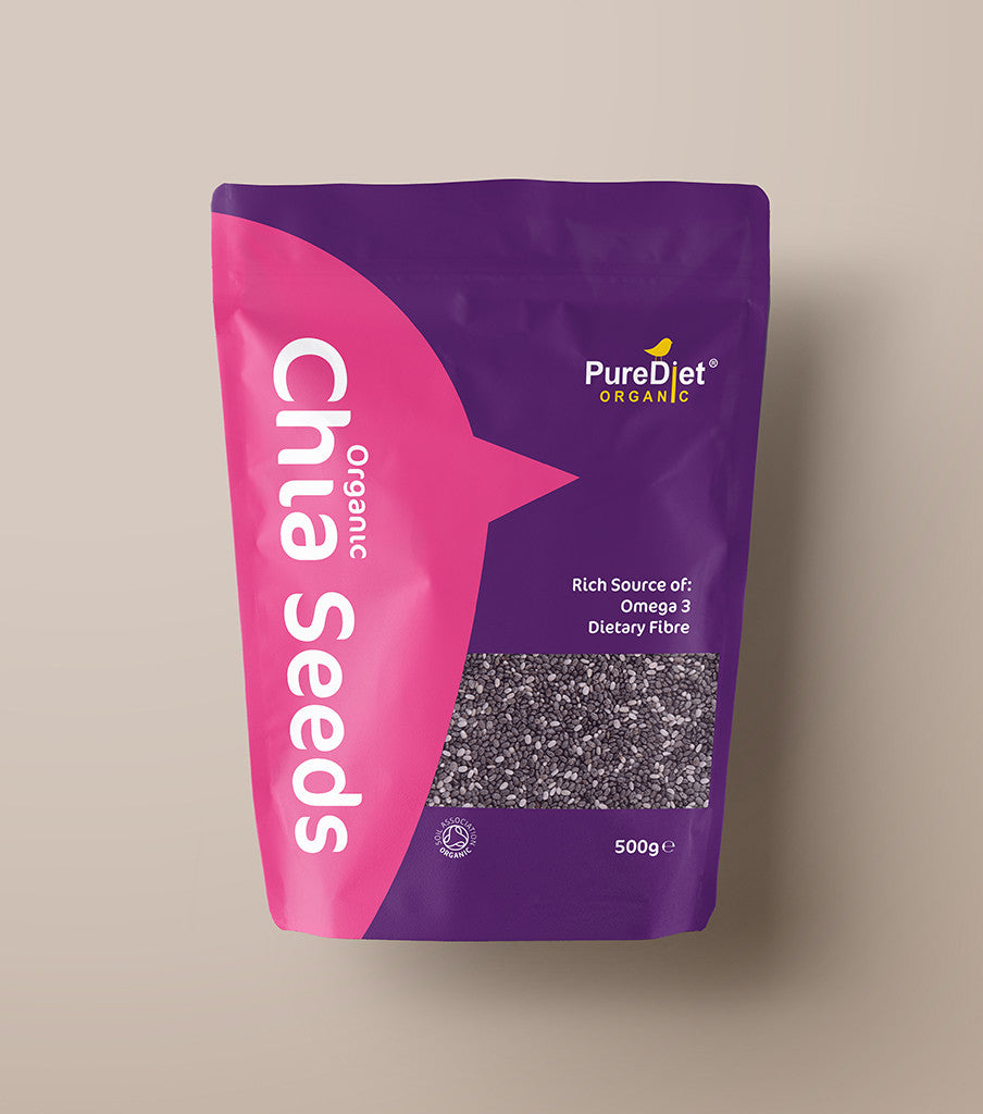 Organic Raw Chia Seeds