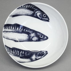 Maritime Cereal Bowl - Mackerel Heads