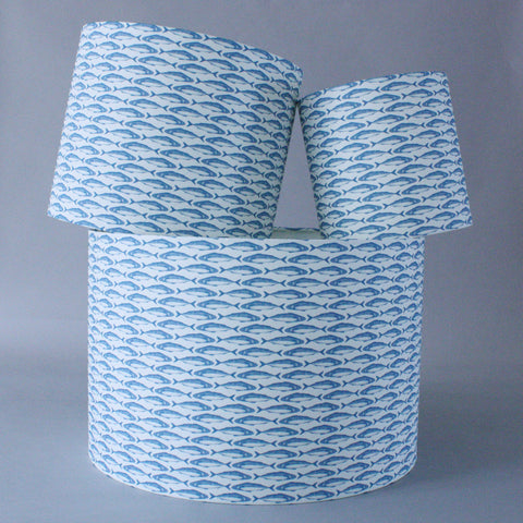 Maritime Shade - Mini Mackerel Cornish Blue
