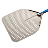 GI.METAL Rectangular Perforated Pizza Peel (Azzurra line)