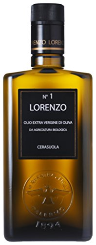 Barbera Lorenzo # 1 Organic Sicilian Extra Virgin Olive Oil. D.O.P Valli Trapanesi, 500 mL