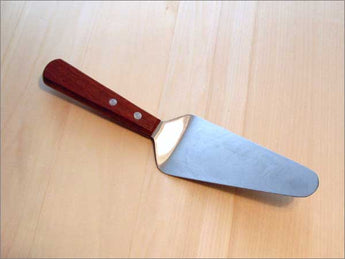 Pie Server 5.5 inch Stainless Steel Blade, Wooden Handle