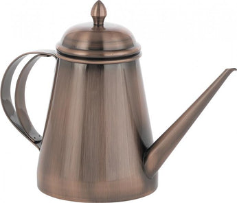 Copper-effect Stainless Steel Oil Cruet - 20 oz