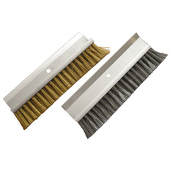 High Heat Oven Brush Head, Aluminum Head (No Handle)