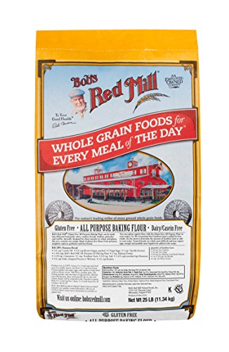 Bob's Red Mill Bulk Flour, All Purpose, Gluten Free, 25 Pound