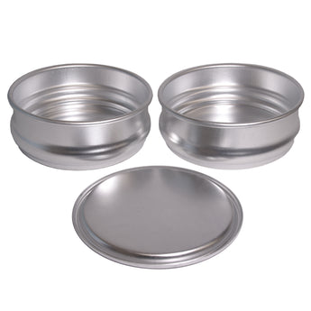 Stackable Aluminum Dough Pan Kit