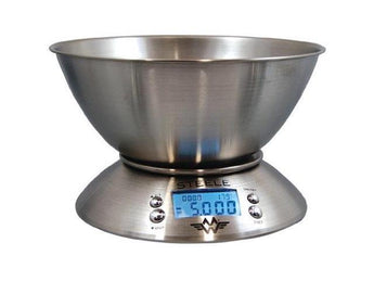 My Weigh Steele 5kg x 1g Kitchen Scale Thermometer/Timer