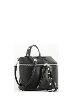 Star Crossbody Handbag - Black