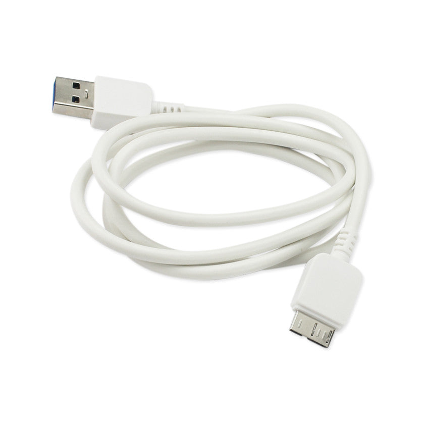 SAMSUNG GALAXY S5 USB DATA CABLE 1.7FT IN WHITE