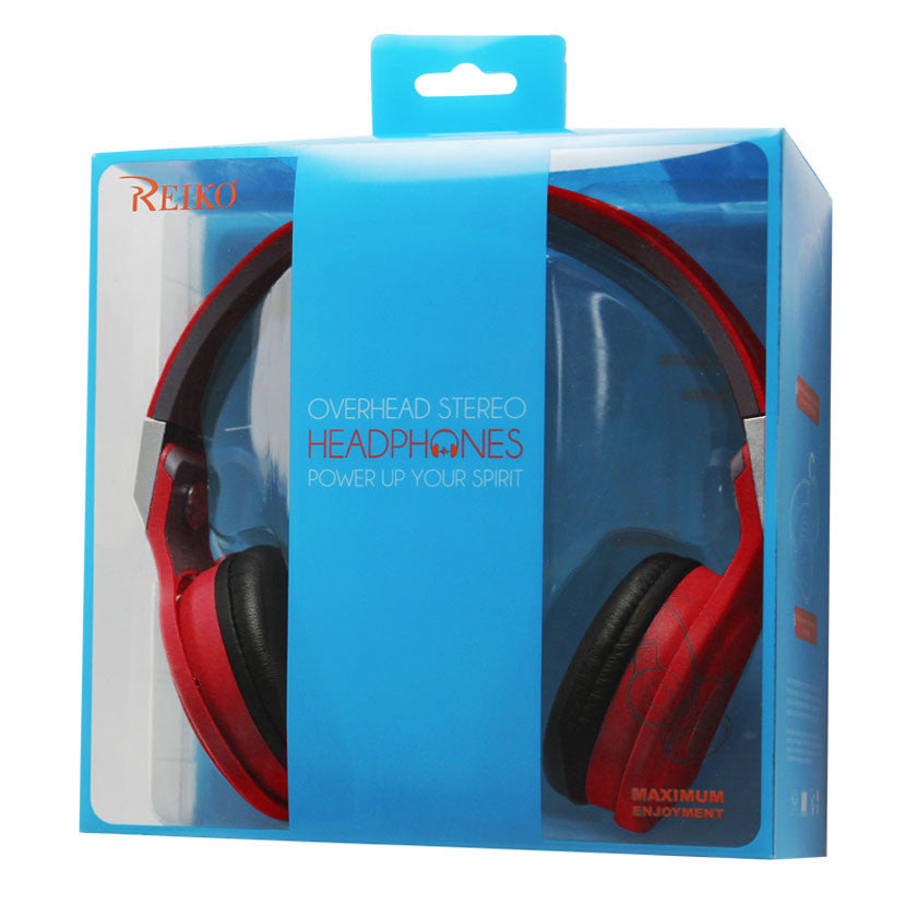REIKO HEADPHONES WIRED WITH MIC