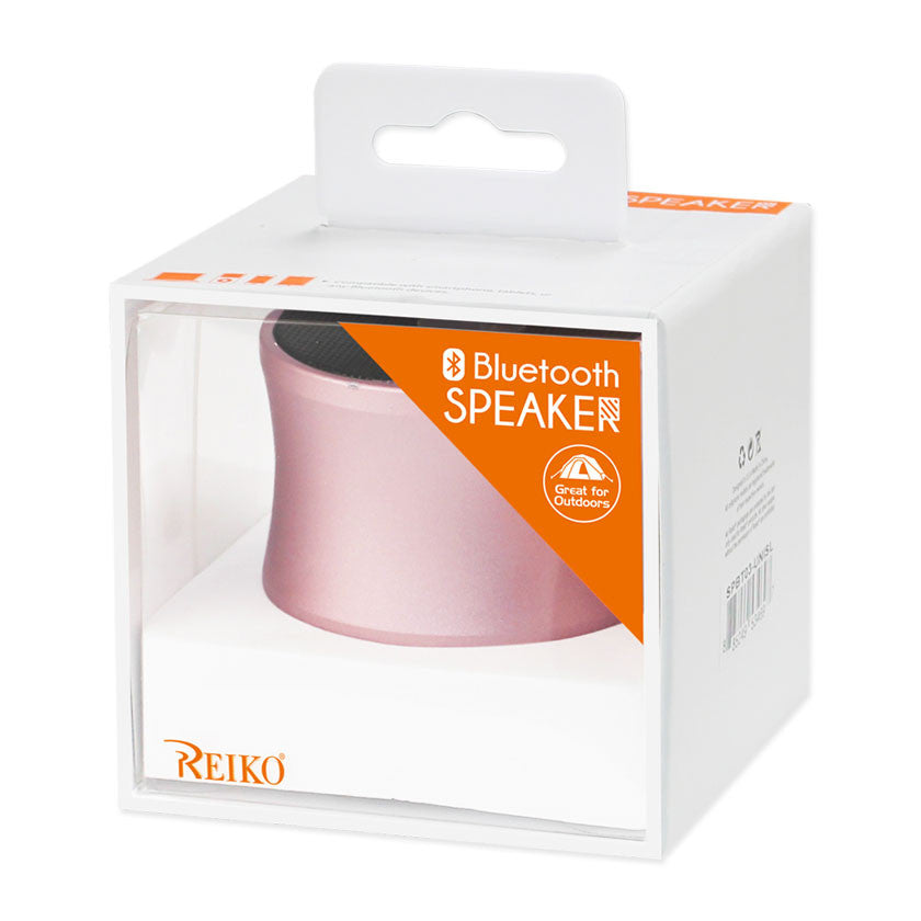 MINI BLUETOOTH SPEAKER ROSE GOLD