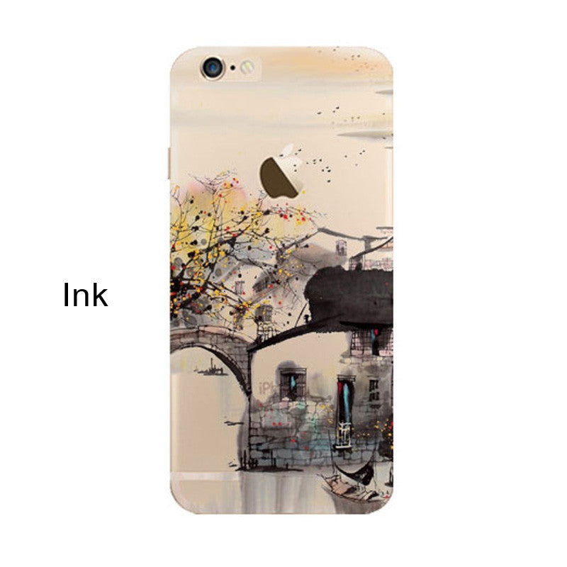 iPhone 5s 7 6 6S case Ultra Thin Soft Silicon