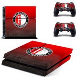 Feyenoord Holland Casino Sticker for PS 4 for Playstation4 Console Skin & Controller Decal Protective Stickers