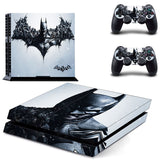 Batman Skin Sticker for Sony PS 4 Playstation 4 Console & 2 Controllers Decal Protective Sticker