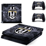 Juventus Football Team Sticker for PS 4 for Playstation4 Console Skin & Controller Decal Protective Stickers