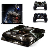New DC Batman Sticker for Sony PS 4 Playstation 4 Console & 2 Controllers Decal Protective Sticker