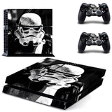 Star Wars  Sticker for Sony PS 4  Console & 2 Controllers Decal Protective