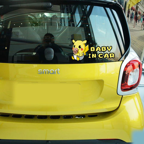 Baby On Board Funny Car Decals