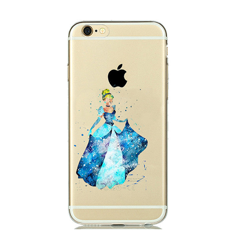 Soft Clear Case Cover for iPhone
