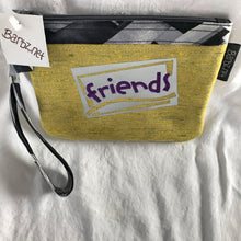 "SOLD Lime Green ""Friends"" - Postcard Bag"