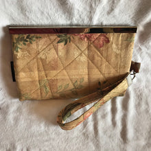 Woman Wallet Wristlet or Small Purse made from Repurposed home dec fabrics, Barbz.net