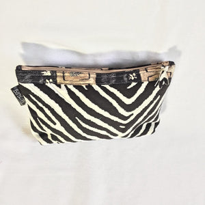 Zebra Print Makeup Cosmetic Case fit for a Queen